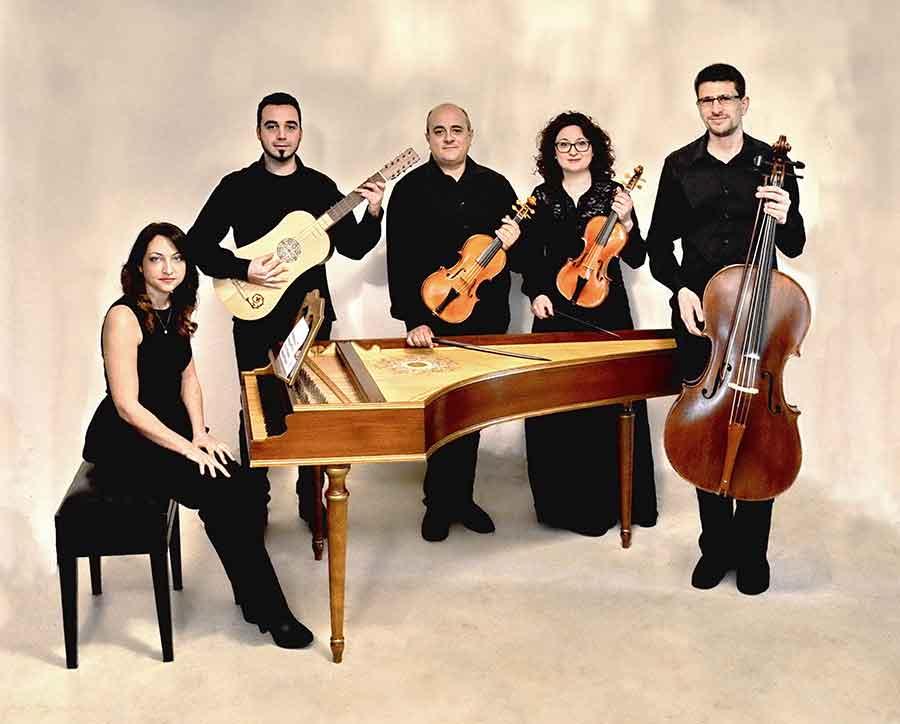 Il quintetto L'Armonioso Concento